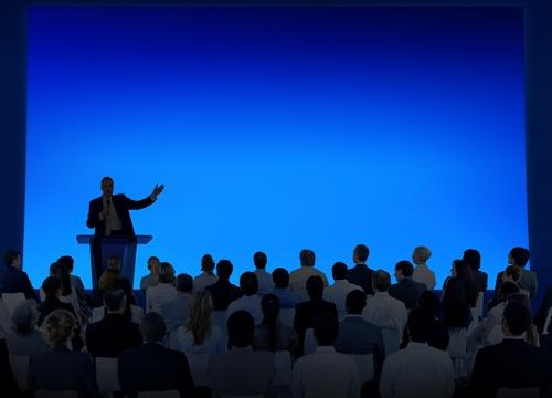 speak to the crowd image